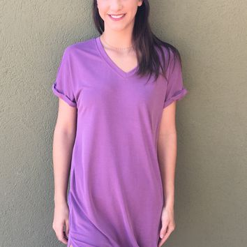 Happily Ever After Dress- Mauve
