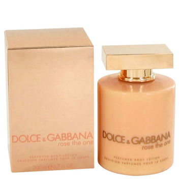 Rose The One Perfumed Body Lotion by Dolce & Gabbana 6.8 oz