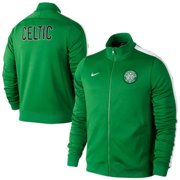 Nike Celtic FC N98 Full Zip Jacket - Kelly Green