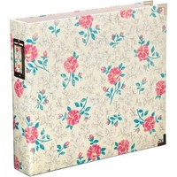 "Becky Higgins Project Life Maggie Holmes Floral D-Ring 12""x12"" Scrapbooking Album 97738"