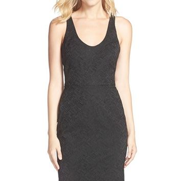 Women's Trina Turk 'Corin' Jacquard Sheath Dress,