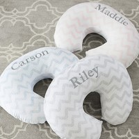 Chevron Dot Boppy Feeding & Support Pillow & Slipcovers | Pottery Barn Kids