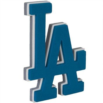 DCCK8UT Los Angeles Dodgers Logo 3D Foam Sticker