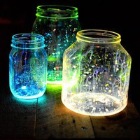 Glass Crafts / glow jars
