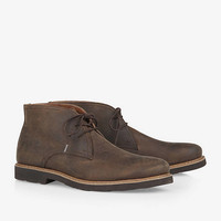 BROWN LEATHER CHUKKA BOOT from EXPRESS