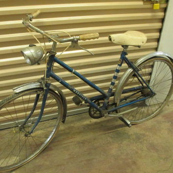 MARFIELD CRUISER Old Vintage Bike..3 Speed..BLUE