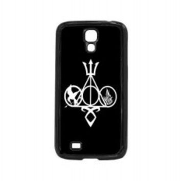 Harry Potter, Percy Jackson, Mortal Instruments, Hunger Games, and Divergent for samsung galaxy s4 case
