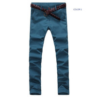 Mens Trendy Straight Pants
