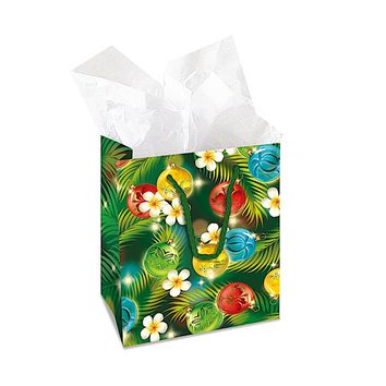 """Gift Bag """"Ornaments of the Islands"""", Small"""