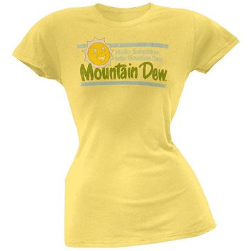 Mountain Dew - Sunshine Juniors T-Shirt