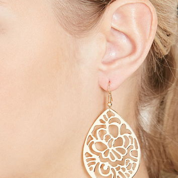 Filigree Drop Earrings | Forever 21 - 1000170661