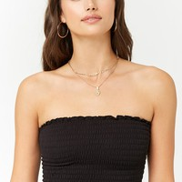Smocked Tube Top