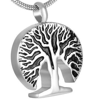 "Cremation ""Tree of Life"" Urn Necklace"