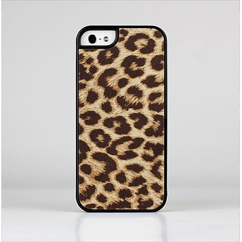 The Simple Vector Cheetah Print Skin-Sert Case for the Apple iPhone 5/5s