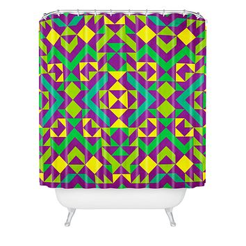 Arcturus Quadrilaterals Shower Curtain