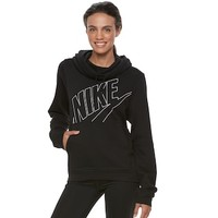 Women's Nike Funnel Neck Running Hoodie | null
