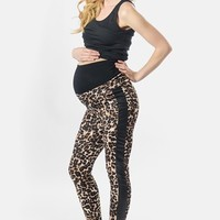 Women's Lilac Clothing Maternity Leggings