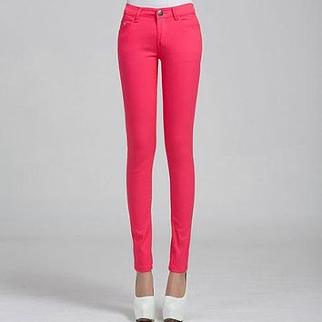 Donna Stretch Bottoms Feminino Skinny Pants For Women