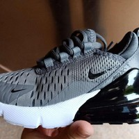 HCXX 19Aug 263 Nike Air Max 270 Mesh Kid Comfortable Sports Shoes