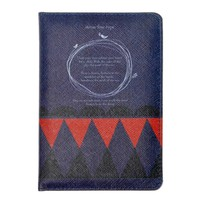 MEKU PU Leather Passport Cover Holder Vintage Style Passport Wallet Case
