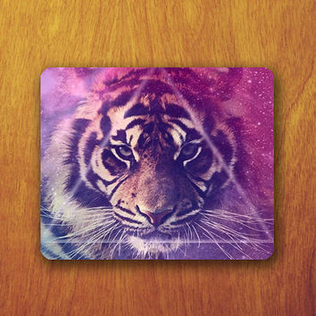 Abstract Triangle TIGER Galaxy Mouse PAD Customized Mousepad Accessory For Desk Hipster Office Personalized Teacher Gift Work Pad For Mice