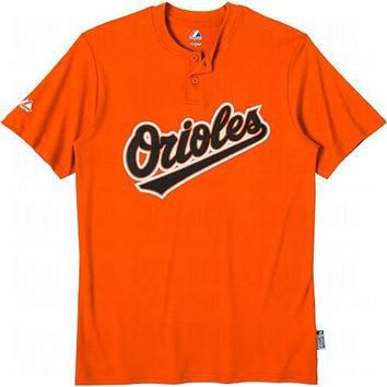 Baltimore Orioles (ADULT SMALL) Two Button MLB Officially Licensed Majestic Major Leag