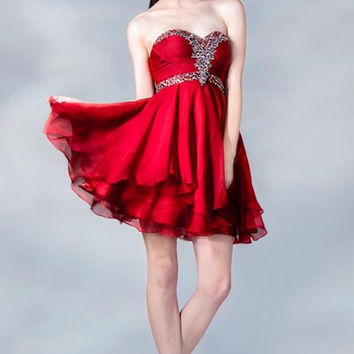 PRIMA C1347 Homecoming Cocktail Dress