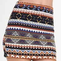 Cabin Fever Mini Skirt