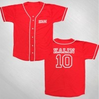 Kalin and Myles - Kalin Baseball Jersey [KAM3A3016]: Now Just $50.00