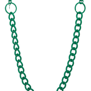 Hook Up Green Body Chain