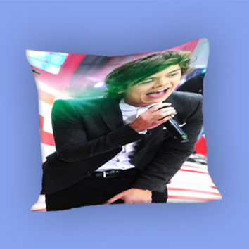 cool photo harry style one direction for Pillow Case, Pillow Cover, Custom Pillow Case **