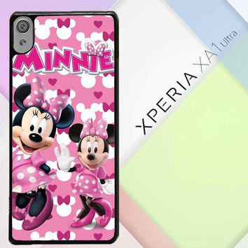 Minnie Mouse D0343 Sony Xperia XA1 Ultra Case