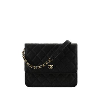 CHANEL Fashion - Classic wallet on chain