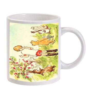 Gift Mugs | Winnie The Pooh Illustration Ceramic Coffee Mugs
