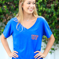 Go Gators V-Neck Tee