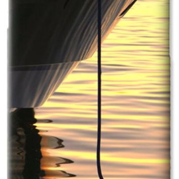 Sunset Reflections With Boat No 2 Galaxy S6 Case for Sale by Ben and Raisa Gertsberg