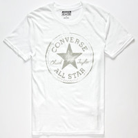 Converse Core Mens T-Shirt White  In Sizes
