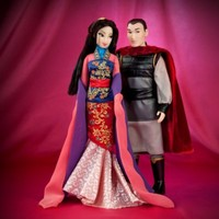 Disney Fairytale Designer Collection Mulan And Li Shang Dolls | Disney Store