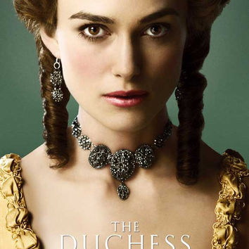 The Duchess (UK) 11x17 Movie Poster (2008)