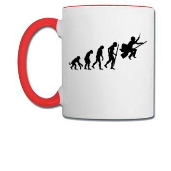 harry potter evolution - Coffee/Tea Mug