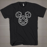 Celtic Knot Mickey Symbol  Mens and Women T-Shirt Available Color Black And White