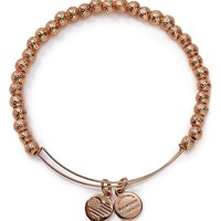 Alex and AniEuphrates Beaded Rose Gold Tone Wire Bangle - Bloomingdale's Exclusive