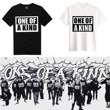BIGBANG GD KPOP G-DRAGON Kwon Ji Yong ONE OF A KIND Cool T-SHIRT FASHION