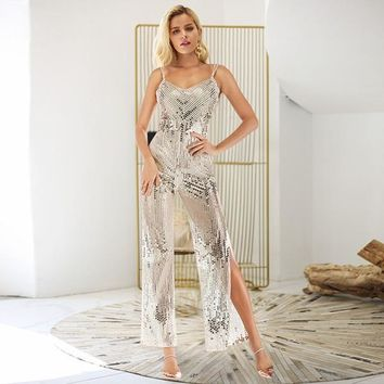 Motive Jumpsuit - Silver