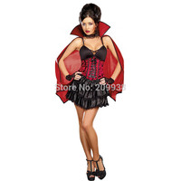 Sexy Vampire Costumes for Women Halloween Costumes Vampire Adult Fantasia Cosplay AMN2849