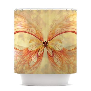 "Alison Coxon ""Papillon"" Shower Curtain"