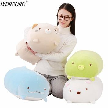 LYDBAOBO 1PC 60CM San-X Corner Bio Pillow Japanese Animation Sumikko Gurashi Plush Toy Down Stuffed Cotton Doll  Valentine Gift