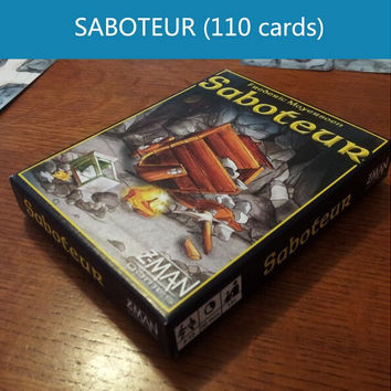 Board game table game card playing English saboteur 1 saboteur 2 expansion plastic sealed VIP pack simple pack optional