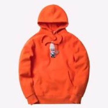 KITH TREATS Cereal Boy Hoodie XL X-Large new Orange Rare supreme unopened in box