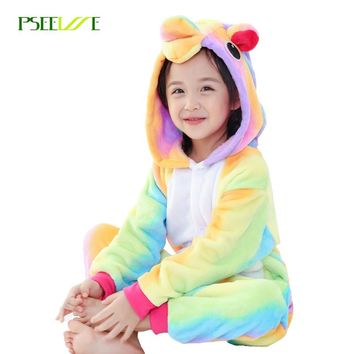 Unicorn Onesuit Sleepwear Pajamas